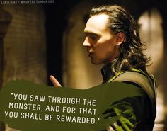 "Loki's Dirty Whispers - Submission: ""You saw through the monster, and for that you shall be rewarded."""