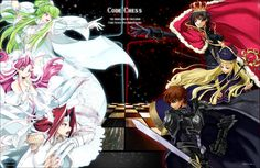 "Fan Art ""Code Geass""  By: 嵐月  The Girls vs The Guys!!!"