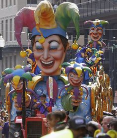 New Orleans Mardi Gras (Feb)