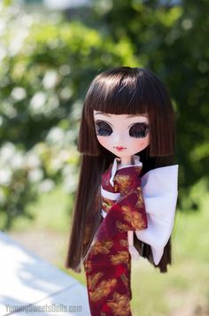 OOAK Japanese Black Tea Full Custom Pullip by YummySweetsDolls