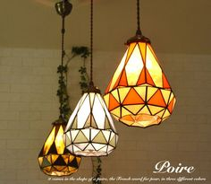 Stained Glass Light, Solar Powered Lights, Lanterns, Mosaic, New Homes, Table Lamp, Ceiling Lights, Lighting, Interior