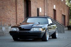 Black foxbody mustang: how mine will look (: 1993 Ford Mustang, Fox Body Mustang, Ford Fox, Car Man Cave, High Performance Cars, Mustang Convertible, Pony Car, Car Ford, Hot Cars