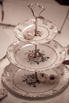 three tier plate stand for nibbles