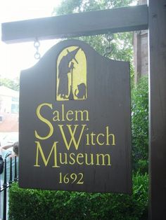 Salem Witch Museum, Salem, MA. I want to go sooooo bad!!!! Someday we will take a US tour of haunted hot spots, all things witch and haunted houses. Odd dreams here in the Taylor house, but Awesome ones!