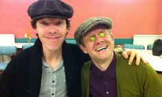 Sherlock series 3 read-through begins. Also, this is my new favorite picture ever.