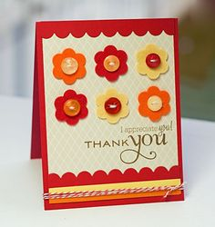 Thank you card...