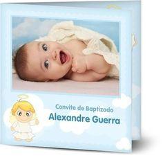 Rapaz - Cartões de Baptismo personalizados