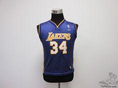 Reebok Los Angeles Lakers Shaqulle O'Neal Basketball Jersey sz Youth M Medium #Reebok #LosAngelesLakers #tcpkickz