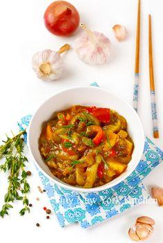 http://www.tinynewyorkkitchen.com/recipe-items/warm-eggplant-tomato-stew/
