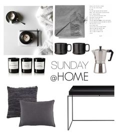 """""""SUNDAY MOODS"""" by nmkratz ❤ liked on Polyvore featuring interior, interiors, interior design, home, home decor, interior decorating, Pom Pom at Home, Sofia Cashmere, Byredo and Dot & Bo"""
