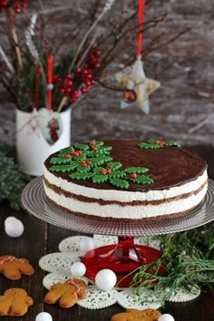 Christmas Sweets, Xmas, Hungarian Recipes, Healthy Cake, Gingerbread, Food And Drink, Dessert Recipes, Baking, Cakes