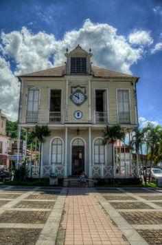 st pierre, maison de la bourse Martinique