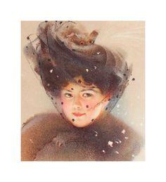 Antique Original Victorian Lithograph // 1909 by BGoddessSupplies