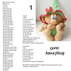 Best 12 ELF amigurumi handmade gnome green hat and di AmigurumieBijoux – SkillOfKing. Crochet Fox, Crochet Doll Pattern, Crochet Patterns Amigurumi, Amigurumi Doll, Crochet Dolls, Crochet Russe, Braided Rag Rugs, Crochet Christmas Decorations, Knitted Animals