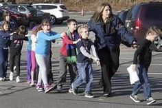 """""""That's when my son grabbed a bunch of his friends and ran out the door. He was very brave."""" -- Robert Licata of his six-year-old son who was at the Newtown, Connecticut elementary school massacre."""
