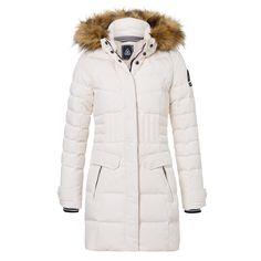 Gaastra Down Coat Ellington Offwhite Down Coat, Off White, Winter Jackets, Coats, Woman, Amazon, Outdoor, Style, Fashion