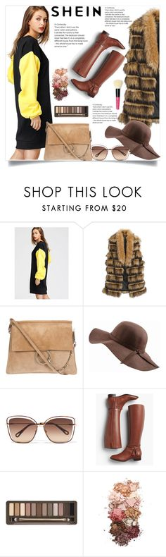 """""""shein"""" by belma ❤ liked on Polyvore featuring Chico's, N'Damus, Chloé, Talbots, Urban Decay, Sigma and Bobbi Brown Cosmetics"""