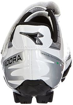 Diadora X PHANTOM, Unisex-Erwachsene Radsportschuhe – Mountainbike, Weiß (silber/weiß/schwarz 45 EU - 2 Bicycle Helmet, Unisex, Hats, Self, Chain, Hat, Hipster Hat, Caps Hats, Cycling Helmet