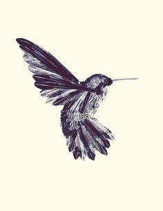 Hummingbird (by Valerie Manne)