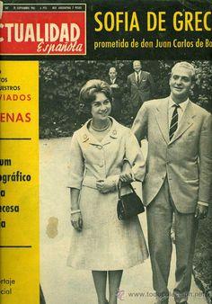 Principal - REVISTA **LA ACTUALIDAD ESPAÑOLA** Nº507 1961 SOFIA DE GRECIA PROMETIDA DE DON JUAN CARLOS DE BORBON Queen Sophia, Princess Sophia, Spanish Royal Family, Don Juan, Queen Letizia, Royalty, Point, Vogue, Life