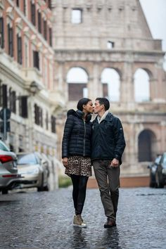 A Beautiful and Romantic Surprise Wedding Marriage Proposal. Photography by the Andrea Matone Photography studio. Romantic Surprise, Surprise Wedding, Surprise Proposal, Family Photos, Couple Photos, Alleyway, Marriage Proposals, Rome Italy, Couple Posing