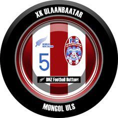 DNZ Football Buttons: FC Ulaanbaatar                                                                                                                                                                                 Mais