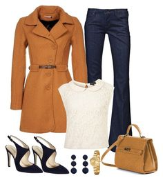 """""""Untitled #822"""" by gallant81 ❤ liked on Polyvore featuring 2Two, Hudson Jeans, Giorgio Armani, Rebecca de Ravenel and Akribos XXIV"""