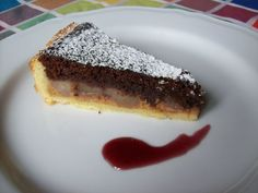 CROSTATA PERE E CIOCCOLATO. La ricetta qui ---------> http://www.petitchef.it/ricette/dessert/crostata-pere-e-cioccolato-fid-1505347