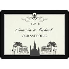 new orleans themed save the dates - Google Search
