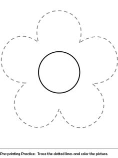 Flower Coloring Pages for Preschoolers Best Of Pre Print Practice Worksheet Preschool Printables, Preschool Worksheets, Preschool Activities, Printing Practice, Infant Lesson Plans, Flower Template, Crown Template, Heart Template, Butterfly Template