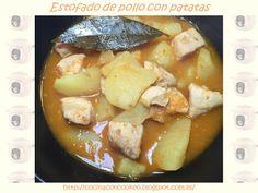 """Cocina con Cookeo"": Estofado de pollo con patatas"