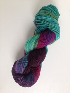 Love so much! Teals, purples and pinks, similar to my berry patch colourway
