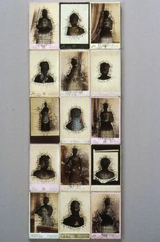 Lisa Kokin-  sewn photographs