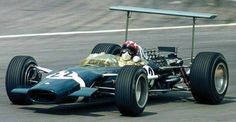 Jo Siffert won the British Grand Prix at Brands Hatch in 1968 driving a Lotus-Ford, his first victory Italian Grand Prix, British Grand Prix, Real Racing, F1 Racing, Racing Team, Courses F1, Ford, F1 Lotus, Gilles Villeneuve