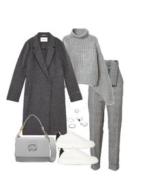 Fashion set all grey created via Uber, New Fashion, Trends, Polyvore, Fashion, Gray, New Trends, Beauty Trends