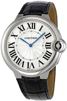 Cartier Ballon Bleu De Cartier Extra-large Watch W6920055. => http://www.amazon.com/Cartier-Ballon-Extra-Large-Watch-W6920055/dp/B006UH996I/watches0906-20/ => Brand, Seller, or Collection Name:Cartier,Part Number:W6920055,Case material:18kt White Gold,Case diameter:46,Case Thickness:7.05,Dial color:Silvered,Bezel material:Fixed 18kt White Gold,Warranty type:Contact seller of record