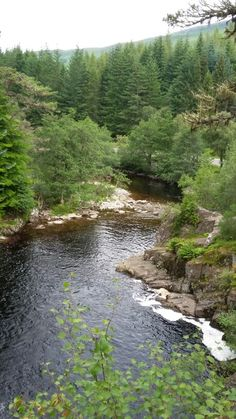 Druim-on-aird Waterfall