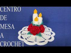COMO TEJER CENTRO DE MESA A CROCHET - YouTube Lana, Crochet Earrings, Crochet Hats, Empanadas, Ideas Para, Youtube, Doilies, Towels, Christmas Table Centerpieces