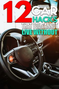 12 car organization hacks that will keep your car organized and free of clutter! Car Life Hacks, Car Facts, Car Cleaning Hacks, Organization Hacks, Organizing Ideas, Helpful Hints, Canning, Clutter, Trust