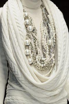En blanco..tricot