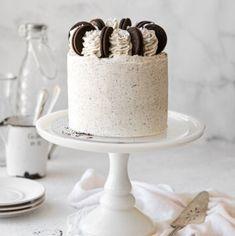 Cookies And Cream Cake, Cake With Cream Cheese, Oreo Cookies, Yummy Cookies, Vanilla Buttermilk Cake, Buttermilk Cookies, White Chocolate Cookies, Chocolate Cake, Oreo Cake Recipes
