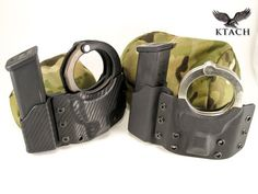 http://www.ktach.us/products/pistol-mag-cuff-combo-carrier #kydex #combo