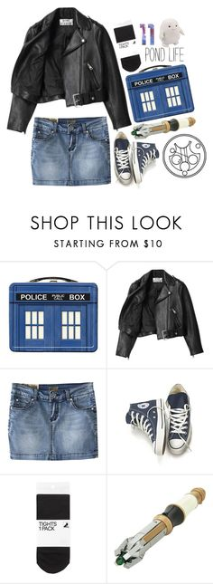 """""""Amy Pond"""" by books-are-infinite ❤ liked on Polyvore featuring Acne Studios, Chicnova Fashion, Converse and H&M"""