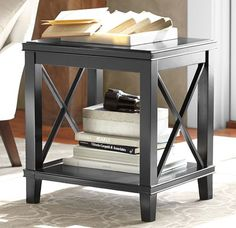 Cassie Side Table- Black | Modsy Product | by Pottery Barn