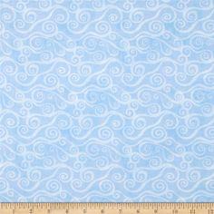 swirls, quilting cotton - Fabric.com
