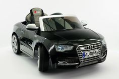 Audi S5 Sport 12V Electric Kids Ride-On Car with Parental Remote | Black