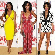 Keke Palmer, Taraji P. Henson and Regina Hall