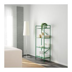 DRAGET Stellingkast - groen - IKEA