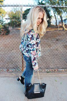 Floral Jacket | Fashion Blogger