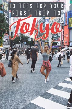 10 Tips for Your First Trip to Tokyo